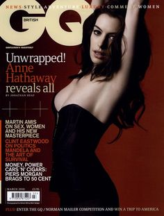 GQ British Cover March 2010 Shot #1