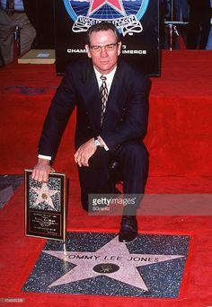 1994: Tommy Lee Jones during Tommy Lee Jones Honored with a Star on the Hollywood Walk of Fame at 6925 Hollywood Blvd. in Hollywood, California, United States.