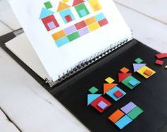 5 Fun DiY Travel Game Ideas for Kids Ensure your next road trip is easy and fun! Here are 5 DIY travel games will keep the kids entertained without taking up too much space. Car Games For Kids, Busy Bags, Business For Kids, Pattern Books, Toddler Activities, Travel Activities, Creative Activities, Creative Play, Crafts For Kids