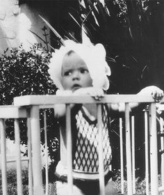 Shirley Temple at 8 months old, 1928.