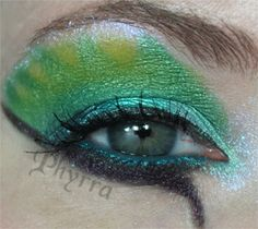 Makeup Monday - Exotic Bird - Quetzalcoatl Bird | Phyrra - Beauty ...