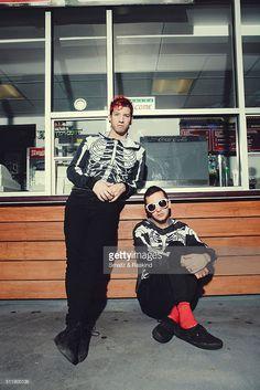 Tyler Joseph and Josh Dun   Musical duo Twenty One Pilots comprised of Josh Dun and Tyler Joseph ...