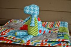 Dinosaurs to Sew! free patterns | Grandmother's Pattern Book