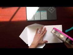 ▶ Envelope Punch Board Mini Album - YouTube