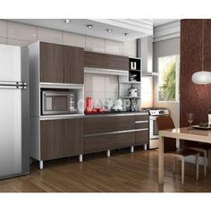 Armário de Cozinha Itália - Móveis Bechara  R$1.349,90 10x de R$134,99 ou R$1.147,42 no Boleto ou Transferência
