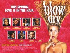 Alan Rickman 'Blow Dry' poster
