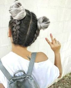 40 Cute Hairstyles for Teen Girls is part of Teen hairstyles - Getting bored of all those super boring hairstyles Then you seriously need some cute hairstyles for teen girls to flaunt off at school Cute Hairstyles For Teens, Teen Hairstyles, Hairstyles For School, Pretty Hairstyles, Braided Hairstyles, Long Haircuts, Simple Hairstyles, Trendy Haircuts, Hairstyles 2018