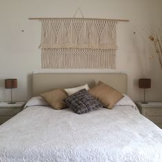 Macramé hanger by TEX MB -> custom orders available! Www.texmb.com