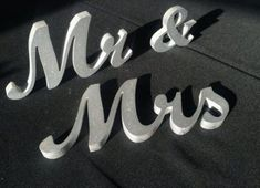 Mr & Mrs Signs Wedding Centerpiece Wedding Table Decor Large Thick Letters Mr and Mrs Wedding Signs for Sweetheart Table Item Svetulka Wedding Signs, Wedding Table, Wedding Reception, Wedding Set, Wedding Ideas, Rustic Signs, Wood Signs, Trendy Wedding, Summer Wedding