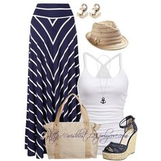 Cómo combinar un look para el verano - Rayado marinero