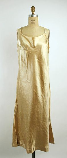 Callot Soeurs   Silk lace coat over satin & lace evening dress, 1920s   French   The Met