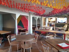 Coffee shop and informal meeting space design for FCB Africa by Design Partnership. Interior Photography, Hospitality Design, Restaurant Design, Contemporary Design, Coffee Shop, Architecture Design, Africa, Australia, Ceiling