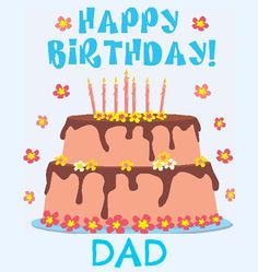 HAPPY BIRTHDAY DAD | Free Birthday Greetings, Cards & Messages