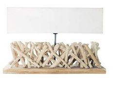 Eco wood lamp