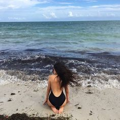 Inspiração: Fotos TUMBLR na Praia Sozinha