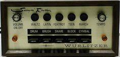 """Vintage Wurlitzer Drum Machine, this will replace the drummer """"NOT""""!!"""