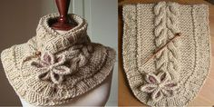 DIY A Beautiful Knit Scarf with Free Pattern