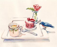 Carol Gillott Watercolor