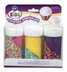 Wilton Kids Twisted Sprinkles Set, Bright Colors by Wilton. $19.44