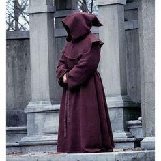 Renassiance-style Monk's Robe