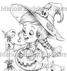 Cute Halloween Coloring Pages, Fall Coloring Pages, Free Adult Coloring Pages, Fairy Coloring, Disney Coloring Pages, Coloring Pages For Kids, Coloring Books, Kids Coloring, Coloring Pages To Print