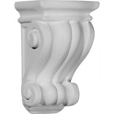 Ekena Millwork Traditional Cole 6 3/4''H x 3 1/2''W x 3''D Pilaster Corbel, Multicolor