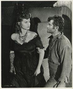 Rita Hayworth & Glenn Ford in The Loves of Carmen