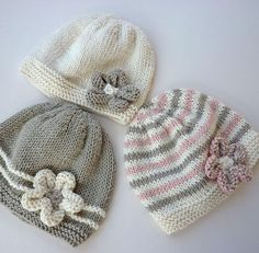 Adorable baby hat pattern! It s free too!  knitting  baby  5945ff30142c