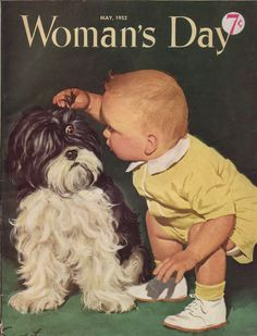 Vintage Woman's Day Magazine Cover, ca. May, 1952.