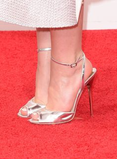 Pin for Later: Ready For Their Close-Up: See All the Accessories at the Emmys 2014 Kiernan Shipka Could you walk in heels like this when you were 14? Perhaps if they were Jimmy Choos too?