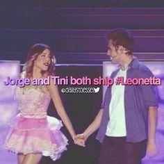 #violetta #leonetta #JORTINI
