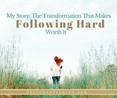 Are you missing out? You could be! Find out if you know the glory of transformation through Christ. #transformation #mystory #hope