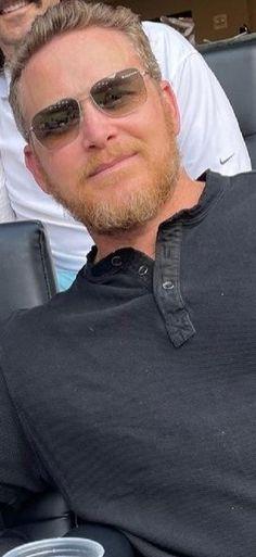 Yellowstone Series, Rangers Game, Cole Hauser, Gorgeous Men, Movie Stars, Tv Series, Interview, Mens Sunglasses, Hot