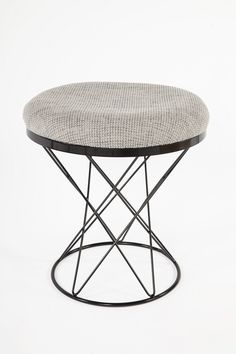 The Tyras Stool in Grey design by BD MOD