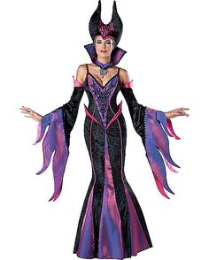 Dark Sorceress Womens Theatrical Witch Costume - Spirithalloween.com