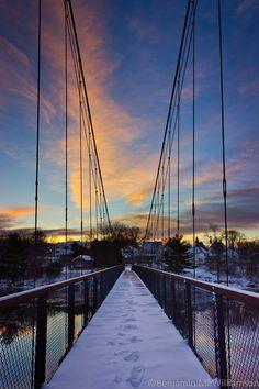 Brunswick-Topsham Walking Bridge