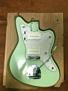 Build an Electric Guitar Out Of Wood – Step By Step Photos #guitar