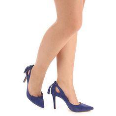 Sapato Scarpin Feminino Lara - Azul