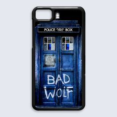Tardis Doctor Who Bad Wolf BlackBerry Z10 Case Cover
