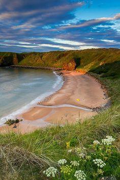 Hackley Bay, Scotland.
