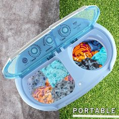 Pyle Compact & Portable Washer & Dryer, Mini Washing Machine and Spin Dryer Image 6 of 6
