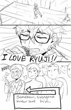 Persona 5    Akira Kurusu, Ryuji Sakamoto Persona Five, Persona 5 Memes, Ryuji Sakamoto, Got Anime, Shin Megami Tensei Persona, Video Game Memes, Video Games, Akira Kurusu, Gaming Memes