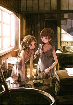 Image about art in Anime y manga by Little_vih Anime Chibi, Kawaii Anime, Anime Art, Atelier Series, Angel Manga, Manga Couple, Beautiful Anime Girl, Character Design References, Manga Pictures