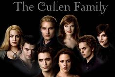 The Cullens Carlisle, esme, Rosalie, emmet, Edward, Bella, jasper, Alice