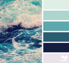 {color sea} image via: @thebungalow22