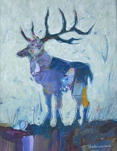 Elk Original Painting