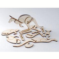 Kangeroo Puzzle