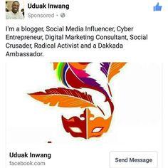 I'm already wearing the #AmazingAkwaIbom brand see how it fits?