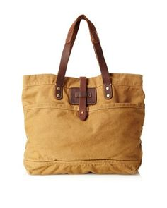 J. Campbell Los Angeles Canvas & Leather Tote by Lishtron on Etsy, $82.00
