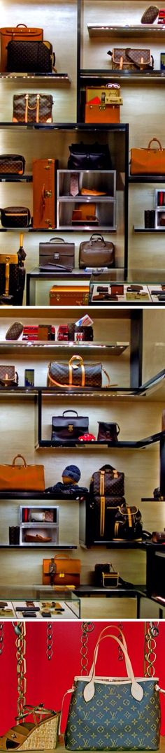 #Beverly Hills~Window Shopping at Louis Vuitton....from luxurydot.com Bella Donna